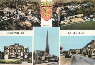 """CPSM  FRANCE 76 """"Souvenir de La Feuillie"""""""