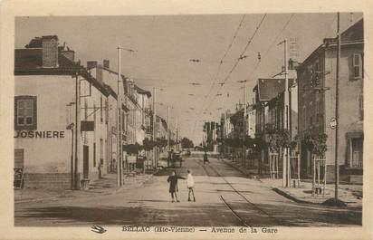 """. CPA FRANCE 87 """"Bellac,  Avenue de la gare  """""""