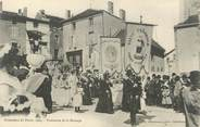 "87 Haute Vienne .CPA FRANCE 87 "" Le Dorat, Ostensions 1904 """