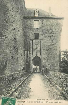 """.CPA FRANCE 87 """"Rochechouart, Entrée du château, ancien pont levis"""""""
