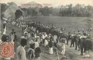 "Asie CPA  INDE "" Ceylon / Procession avec Eléphant"""