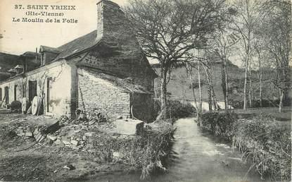 """.CPA FRANCE 87 """"St  Yrieix,  Le moulin de la folie"""""""