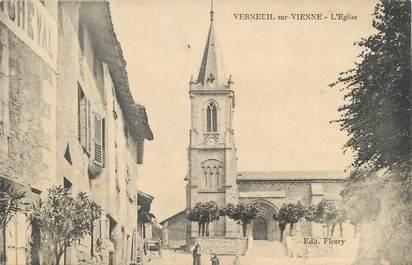 """.CPA FRANCE 87 """"Verneuil sur Vienne,  L'église"""""""