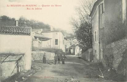 """.CPA FRANCE 26 """" La Bégude de Mazenc, Quartier des Usines, rue du Jabron"""""""