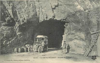 """.CPA FRANCE 26 """" Le Col du Rousset, Entrée du tunnel"""""""