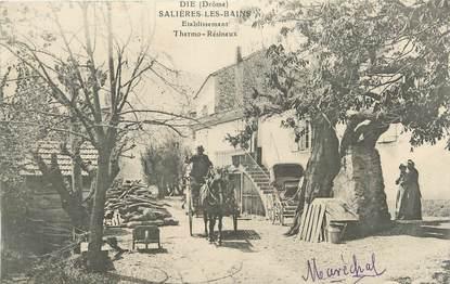 """.CPA FRANCE 26 """"Die, Etablissements thermaux Salières les Bains"""""""