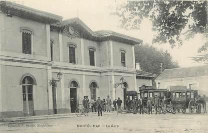""".CPA FRANCE 26 """" Montélimar, La gare"""""""