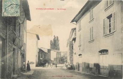 """.CPA  FRANCE 26 """"Saint Paul les Romans, Le village"""""""