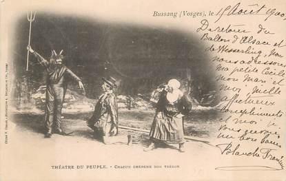 """.CPA   FRANCE 88 """"Bussang, Théâtre du peuple """""""