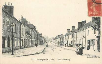 ".CPA   FRANCE 45 "" Bellegarde, Rue Demersay"""