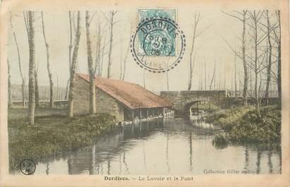 """.CPA   FRANCE 45 """"Dordives, Le lavoir et le pont"""""""