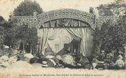 """45 Loiret .CPA   FRANCE 45 """"Gien, Le hameau familial de Montbricon, Le théâtre du soleil et des fleurs"""""""