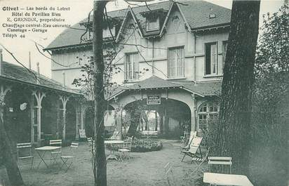 """.CPA   FRANCE 45 """"Olivet, Hôtel du Pavillon Bleu"""""""