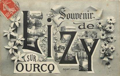 "CPA FRANCE 77  ""Lizy sur Ourcq"""