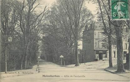 ".CPA   FRANCE 45 ""Malesherbes, Allée de Farcheville"""