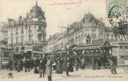 """45 Loiret .CPA  FRANCE 45 """"Orléans, Place du Martroi"""" / TRAMWAY"""