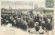 """45 Loiret .CPA  FRANCE 45 """"Orléans, La procession de Jeanne d'Arc, Société de gymnastique"""""""