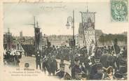 """45 Loiret .CPA  FRANCE 45 """"Orléans, La procession de Jeanne d'Arc, Bannière de Jeanne d'Arc"""""""
