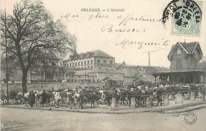 """.CPA  FRANCE 45 """"Orléans, L'abattoir"""""""
