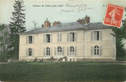 """CPA FRANCE 77  """"Chateau de Villers, Lizy sur Ourcq"""""""
