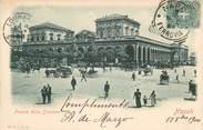 """Italie CPA ITALIE """"Naples, Piazza della Stazione"""""""