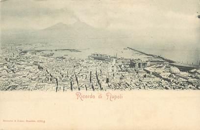 """CPA ITALIE """"Naples, Ricordo di Napoli"""""""