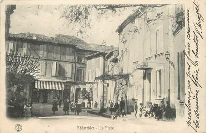 """.CPA FRANCE 84 """" Bédarrides, La place"""""""