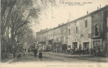 ".CPA FRANCE 84 "" Bollène, Boulevard Pasteur"""