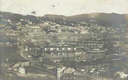 """CPA ITALIE """"Genova, Panorama"""""""