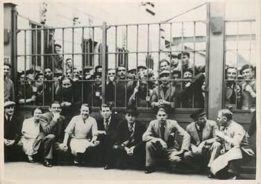 """PHOTO ORIGINALE DE PRESSE /  FRANCE  06 """"Monaco, Grèves des ouvriers de l'Usine à gaz, 1937"""""""