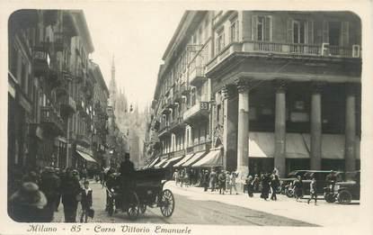 "CPA ITALIE ""Milan, Corso Vittorio Emanuele """