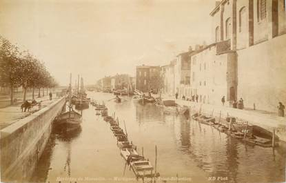 "PHOTO ORIGINALE  /  FRANCE 13 ""Martigues, le canal Saint Sébastien"""