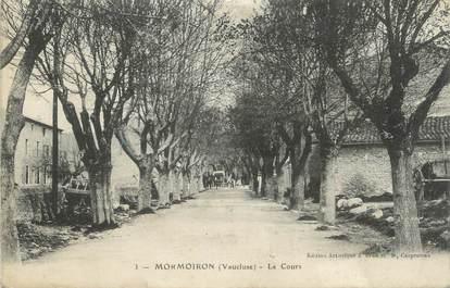 ".CPA  FRANCE 84 ""Mormoiron, Le cours  """