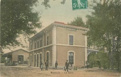 """.CPA  FRANCE 84 """"Monteux, La gare"""""""