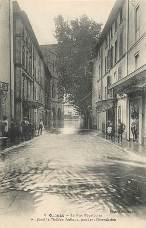 ".CPA FRANCE 84 ""Orange, Rue Pourtoules"""