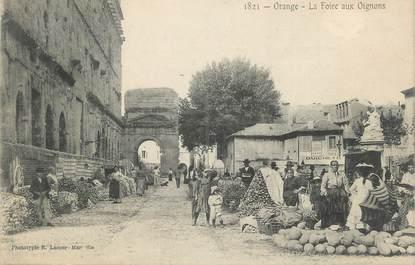 """.CPA FRANCE 84 """"Orange,  La foire aux oignons"""""""