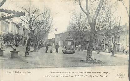 """.CPA  FRANCE 84 """"Piolenc, Le cours"""""""