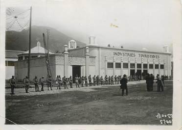 """PHOTO ORIGINALE / FRANCE 38 """"Grenoble, destruction du Palais des Industries touristiques pendant l'Exposition de Grenoble"""""""