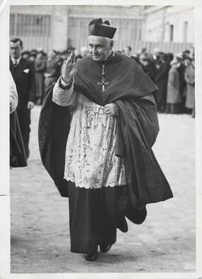 """PHOTO ORIGINALE /  FRANCE 51 """"Reims, portrait du cardinal Suhard"""