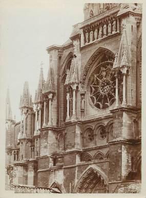 """PHOTO ORIGINALE /  FRANCE 51 """"Reims, la  cathédrale"""""""