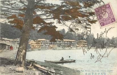 """CPA  JAPON """"The tea house, Nikko"""""""