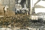 "France  PHOTO ORIGINALE / FRANCE 60 ""Méru, après l'incendie de l'Usine"""