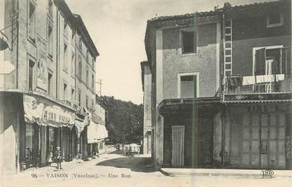 """.CPA  FRANCE 84 """"Vaison, Une rue"""""""