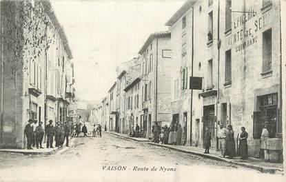 """.CPA  FRANCE 84 """"Vaison, Route de Nyons"""""""