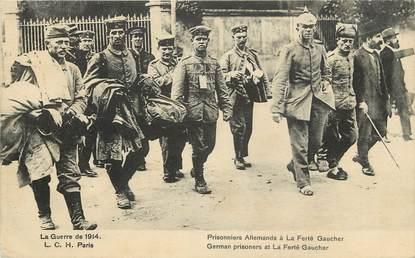"""CPA FRANCE 77  """"La Ferté Gaucher, Prisonniers allemands"""""""