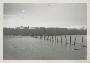 """PHOTO ORIGINALE / FRANCE 62 """" Les inondations entre Etaples et Montreuil, une vue à Hesdigneul"""""""