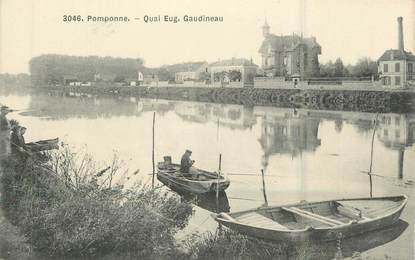 ".CPA  FRANCE 77 ""Pomponne, Gaudineau"""