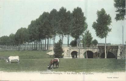 """.CPA  FRANCE 77 """" Ozouer le Voulgis, Le Pont du Seigneur"""""""