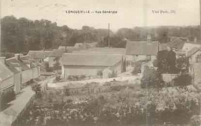 """.CPA FRANCE 77 """"Longueville, Vue générale"""""""
