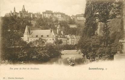 "CPA LUXEMBOURG ""Vue prise du Pont du Hundhaus"""